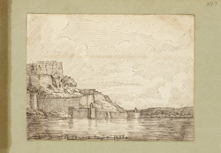 Chunar Fort on the Ganges (U.P.). 3 August 1822